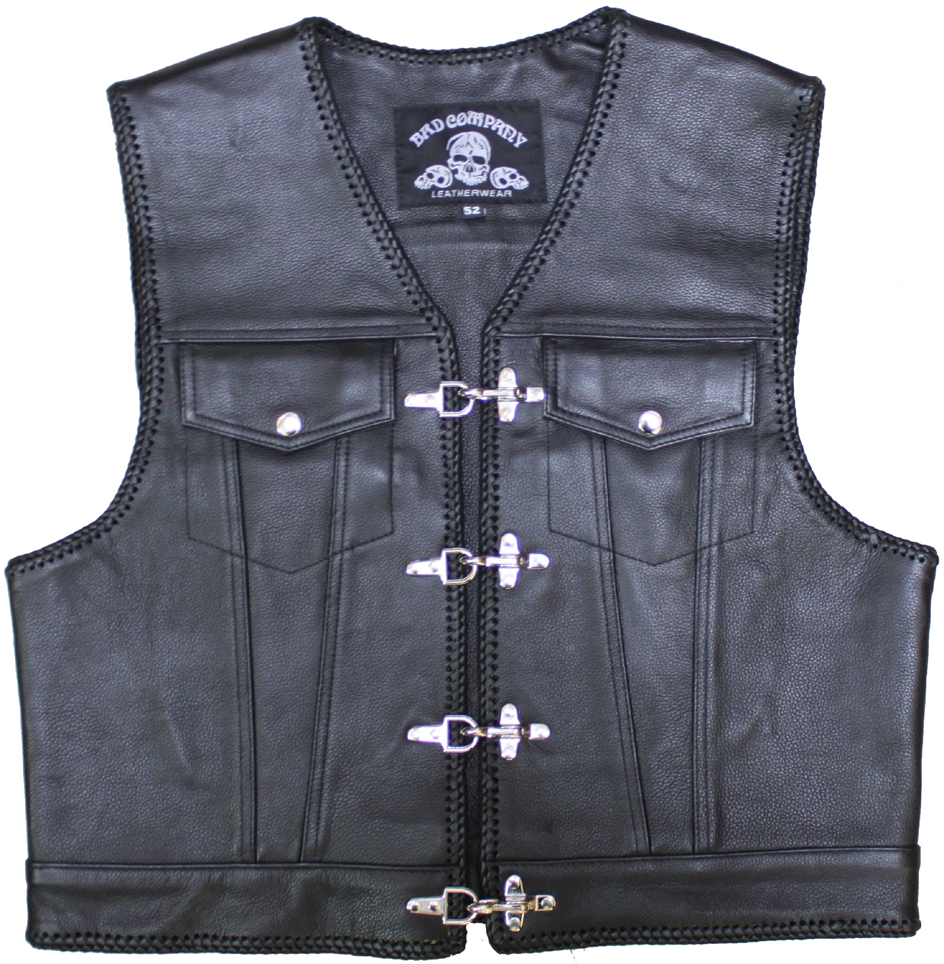 bad company mod paul in the jeans cut kutte leather vest. Black Bedroom Furniture Sets. Home Design Ideas